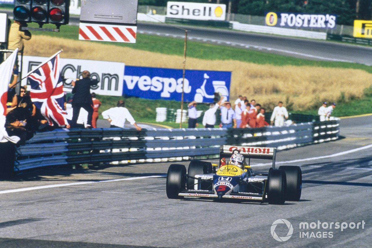 24. Nigel Mansell - Williams FW11B-Honda - 1987 Avusturya GP