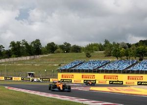 Lando Norris, McLaren MCL35 and Carlos Sainz Jr., McLaren MCL35
