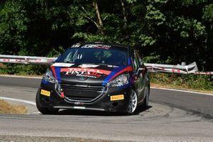 Fabio Farina, Luca Guglielmetti, Pintarally Motorsport, GF Racing, Peugeot 208 R2