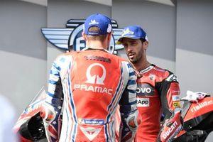 Andrea Dovizioso, Ducati Team, Jack Miller, Pramac Racing