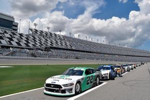Austin Cindric, Team Penske, Ford Mustang MoneyLion, Chase Briscoe, Stewart-Haas Racing, Ford Mustang HighPoint.com