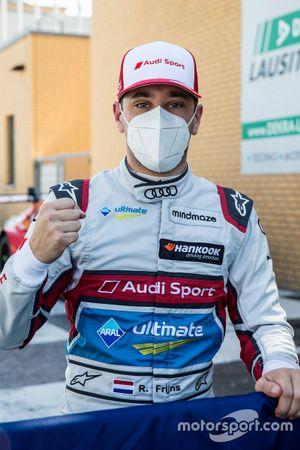Pole sitter Robin Frijns, Audi Sport Team Abt Sportsline