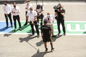 Johnny Herbert, Sky TV, intervista Lewis Hamilton, Mercedes-AMG Petronas F1