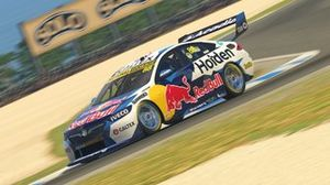 Digital render of Jamie Whincup's Triple Eight Holden Commodore
