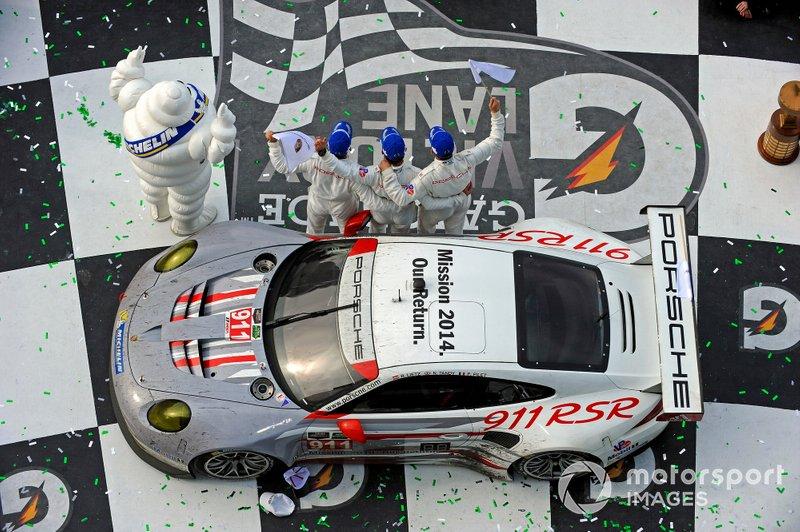 2014 Rolex 24 - #911 Porsche 911 RSR, GTLM, Nick Tandy, Richard Lietz, Patrick Pilet