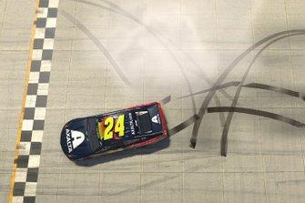 Yarış galibi William Byron, Hendrick Motorsports