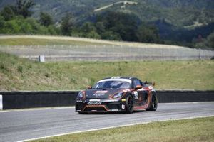 Piccioli Gianluigi, Di Giusto Mattia, Marchi Andrea, Porsche 718 Cayman GT4 #252, Ebimotors