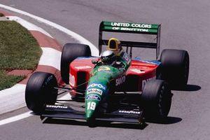 Alessandro Nannini, Benetton B190 Ford, al GP del Canada del 1990