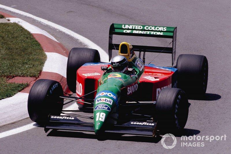 #19: Alessandro Nannini (Benetton)