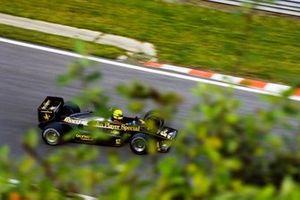 Ayrton Senna, Lotus 97T Renault, GP del Belgio del 1985