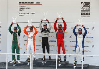 Pódio GT3 Cup - Porsche