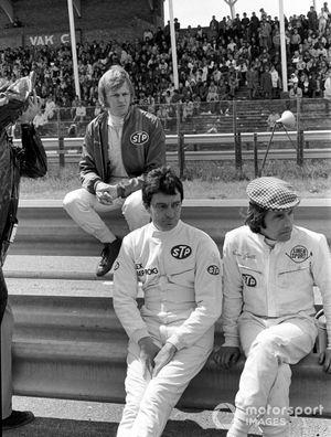 Ronnie Peterson, March 711 Ford, Alex Soler-Roig, March 711 Ford, Nanni Galli, March 711 Ford