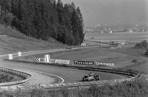Ronnie Peterson, March 721G Ford en el monoplaza