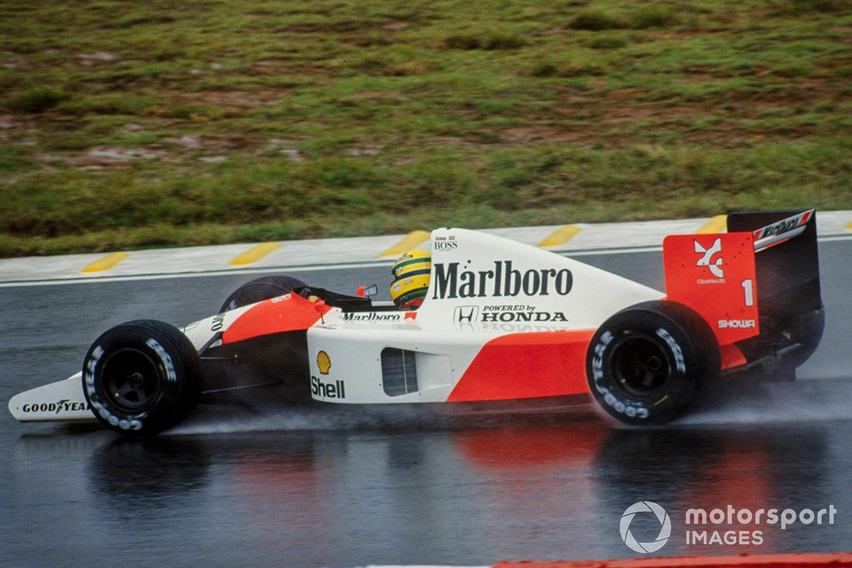 Ayrton Senna, McLaren MP4-6 Honda, GP del Brasile del 1991