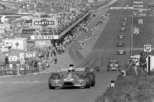 Tim Schenken, Brabham BT33, Jacky Ickx, Ferrari 312B2, Emerson Fittipaldi, Lotus 72D