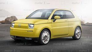 Fiat 126 Electric Hayali Tasarımı (Render)