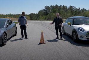 MINI Cooper SE Beat A Chilled Tesla Model 3