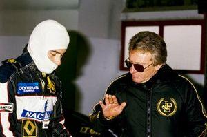 Ayrton Senna, Lotus, avec Gérard Ducarouge