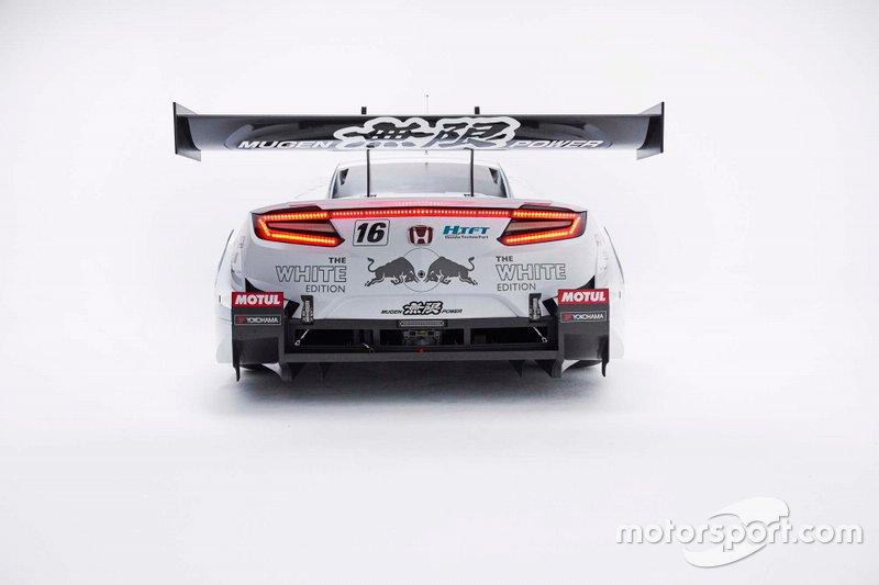 Тестовая модификация автомобиля #16 MUGEN NSX-GT в расцветке «Белый Red Bull»