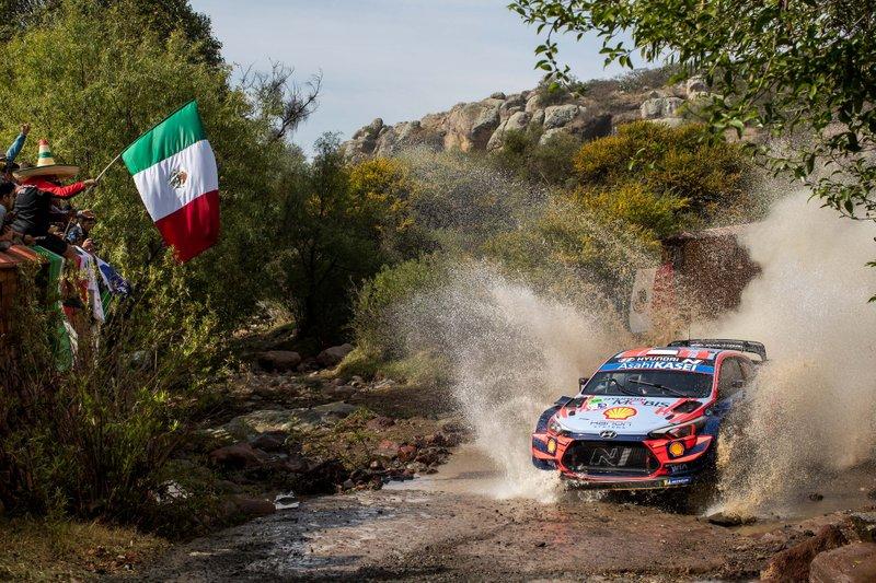 Отт Тянак и Мартин Ярвеоя, Hyundai Motorsport Hyundai i20 Coupe WRC