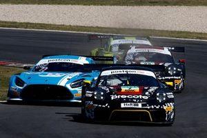 #7 Herberth Motorsport Porsche 911 GT3 R: Alfred Renauer, Sebastian Asch, #22 Toksport WRT Mercedes-AMG GT3 Evo: Maro Engel, Luca Stolz