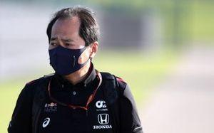 Toyoharu Tanabe, F1 Technical Director, Honda.