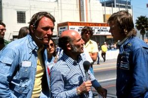 Stirling Moss, interviews Ronnie Peterson, March