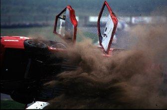 Crash, Gabriele Tarquini, Alfa Romeo 155 TS