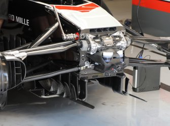 Haas F1 Team VF-20 front detail