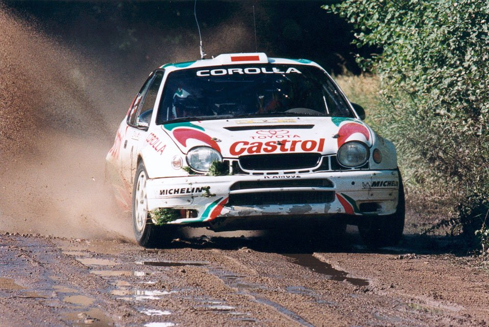 Robert Gryczyński, Tadeusz Burkacki, Toyota Corolla WRC