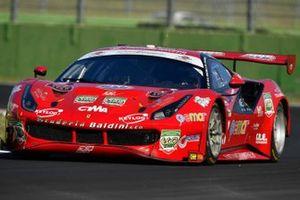 Stefano Gai, Giancarlo Fisichella, Jacques Villeneuve, Scuderia Baldini, Ferrari 488 GT3 EVO