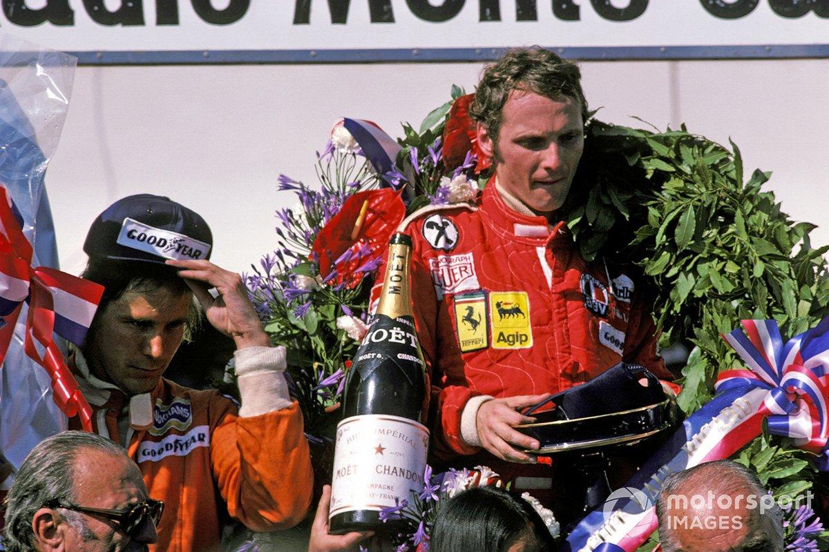James Hunt, Hesketh Ford, Niki Lauda, Ferrari
