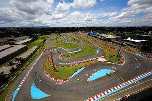 Imagem aérea do Kartódromo Granja Viana