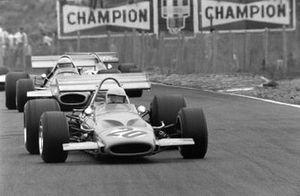 Peter Gethin, McLaren M14A, Jack Brabham, Brabham BT33