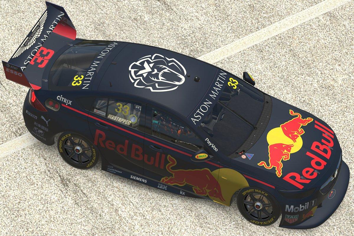 Max Verstappen, Red Bull Holden