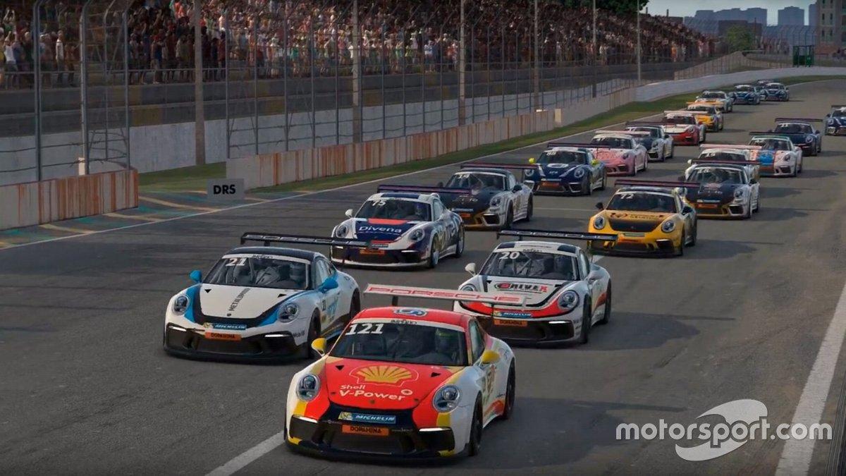 Corrida virtual da Porsche Cup vai selecionar piloto Shell