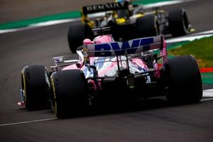 Daniel Ricciardo, Renault F1 Team R.S.20, Nico Hulkenberg, Racing Point RP20