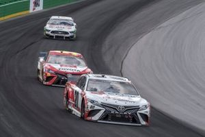 Erik Jones, Joe Gibbs Racing, Toyota Camry Built In Kentucky, Christopher Bell, Leavine Family Racing, Toyota Camry Toyota