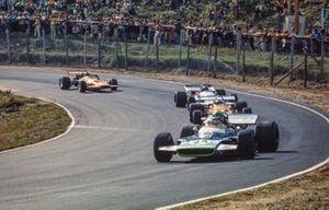 Henri Pescarolo, Matra MS120, Peter Gethin, McLaren M14A, Jean-Pierre Beltoise, Matra MS120, Andrea de Adamich, McLaren M14D