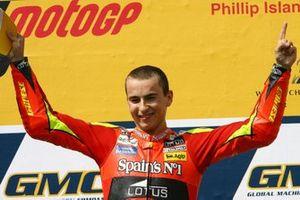 Race winner Jorge Lorenzo, Fortuna Aprilia