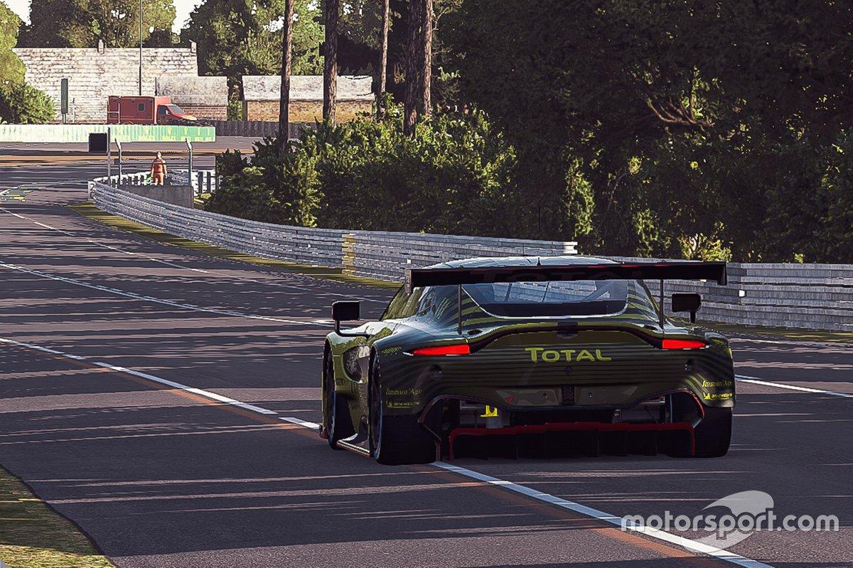 Acciones de Aston Martin Racing