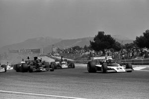 Mark Donohue, Penske PC1 Ford, Jacky Ickx, Lotus 72E Ford, Jean-Pierre Jabouille, Tyrrell 007 Ford
