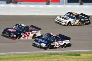 Chase Purdy, GMS Racing, BAMABUGGIES.com Chevrolet Silverado, Tanner Gray, DGR-Crosley, Ford/Ford Performance Ford F-150, Sheldon Creed, GMS Racing, Chevy Accessories Chevrolet Silverado