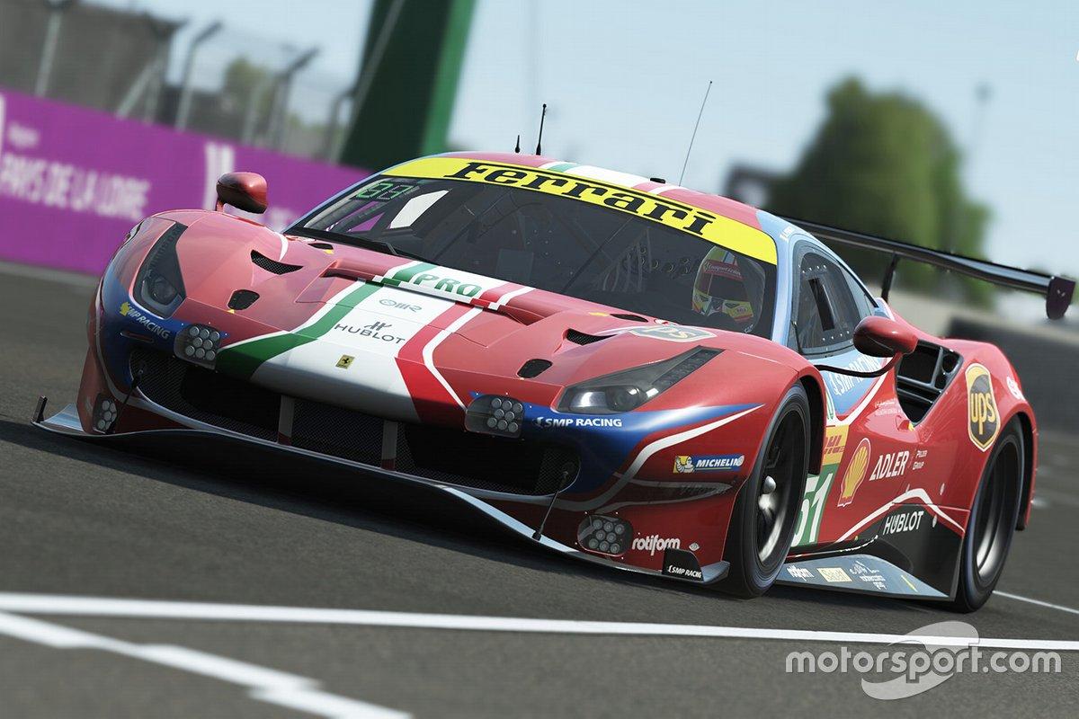 Captura de pantalla Le Mans virtual