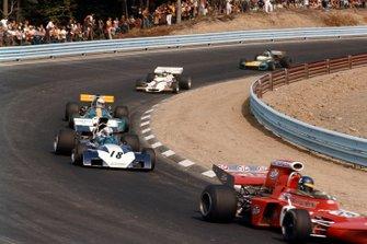 Ronnie Peterson, March 711 Ford, John Surtees, Surtees TS9A Ford, Tim Schenken, Brabham BT33 Ford, Peter Gethin, British Racing Motors P160