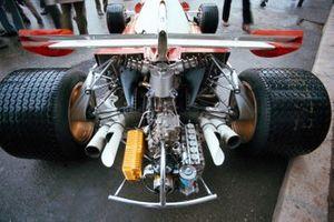 L'arrière de la Ferrari 312B2