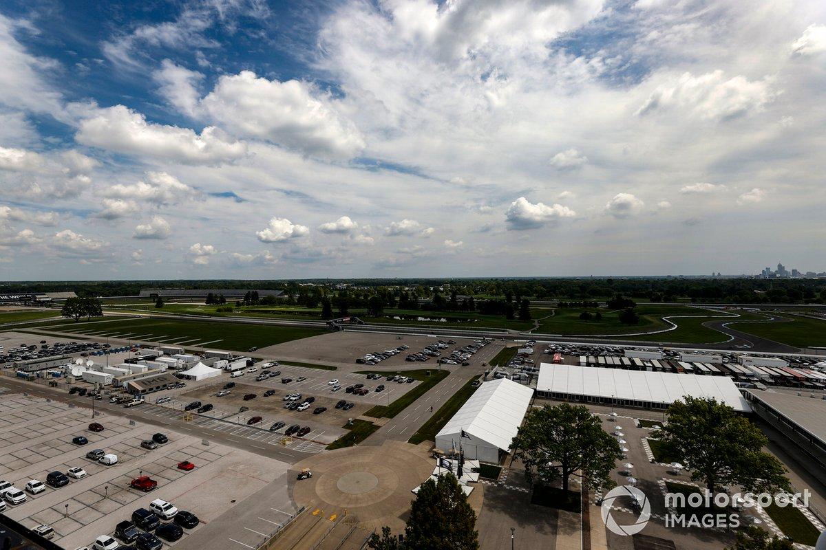 Indianapolis Motor Speedway, pista vacía