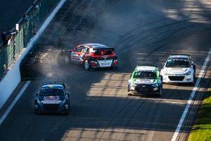 Timmy Hansen, Hansen World RX Team Peugeot 208, Krisztián Szabó, GRX-SET World RX Team Hyundai i20