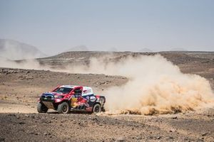 Nasser Al Attiyah, Matthieu Baumel, Toyota Hilux,