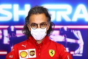 Laurent Mekies, Racing Director, Ferrari, in the team principals Press Conference